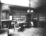 ROBINSON, SIR JOHN BEVERLEY, BT, 'Beverley House', Richmond St. W., n.e. cor.             John St.; INTERIOR, library.