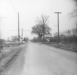 CAWTHRA ROAD, looking s. across C.P.R. tracks s. of Dundas St. (Dixie)