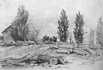 Lumber Mill at Craighurst, Vespra (Ontario).