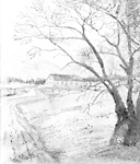 GOVERNMENT HOUSE (HOUSE FOR TRAVELLERS), Credit River, east side, s. of             Lakeshore Rd.