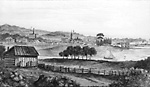 View of Cobourg (1852?).