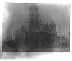 BROADWAY TABERNACLE (METHODIST), n.e. cor. Spadina Ave. & College St.;             during construction.
