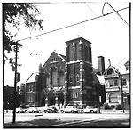 KNOX PRESBYTERIAN CHURCH (opened 1909), Spadina Ave., w. side, s. of Harbord St.