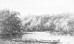Cairn's Landing Place, Vernon River, Muskoka (North Branch Muskoka River,             Huntsville, Ontario)