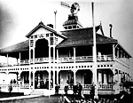 ROYAL CANADIAN YACHT CLUB, club-house, Centre Island (1880-1904).