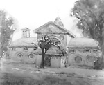 """The Stables at """"Rockwood"""" (Kingston, Ontario), 189?"""