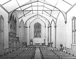 HOLY TRINITY ANGLICAN CHURCH, Trinity Square; INTERIOR.