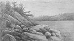 North Bay, Trading Lake, Muskoka (Lake of Bays, Lake of Bays Township, Ontario).