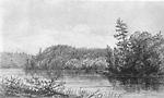 Trading Lake, Muskoka (Lake of Bays Township, Ontario).
