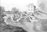 Old Stone Mill at Kingston Mills, Ontario, 189?