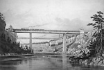Proposed Tubular Bridge for Crossing the Niagara Gorge.