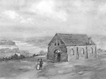 The Anglican Church at Queenston (Niagara-on-the-Lake, Ontario), 183?