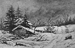 Curtis' House, Oro (Ontario), 13 January 1873