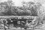 Log Bridge (Oro, Ontario?)