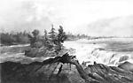 Chaudiere Falls, Ottawa River, Upper Canada (Ottawa, Ontario), c. 1815?