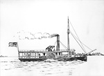"Steamer ""Peter Robinson"", 1834-39 (Lake Simcoe, Ontario)"