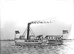 "Steamer ""Morning"", 1849 (Lake Simcoe, Ontario)"