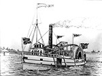 "Steamer ""Emily May"", 1861-74; ""Lady of the Lakes"", 1874-82 (Lake Simcoe,             Ontario)"