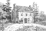 Barrett's Hotel, Newtonbrook, 1790 (Thornhill, now Vaughan, Ontario).