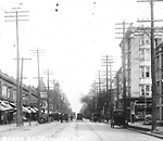 QUEEN ST. W., looking e. from w. of Dowling Ave.
