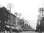 QUEEN ST. W., W. OF SIMCOE ST., looking e. from w. of Jameson Ave.