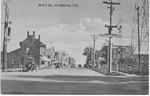 Brant St., Burlington, Ont. -- view of Railway Crossing