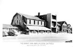 The Brant Inn Burlington, Ontario, famous for the Sky Club - Lido Deck -- Exterior; postmarked 1949