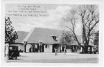 The Pig and Whistle. Lake Shore Highway, near Bronte Ontario. Main Building and Coaching Entrance; dated August 1929