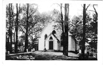 St. Luke's Ch., Burlington, Ont. -- Exterior; postmarked February 8, 1912