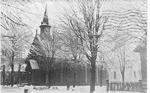 Knox Church, Burlington, Ont. -- Exterior; postmarked May 14, 1908