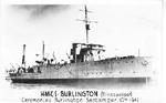 H.M.C.S. Burlington (Minesweeper) Cermonies Burlington September 10th 1941