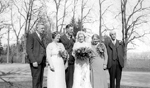 Sovereign Family -- Wedding of Evelyn Sovereign to Bob Ecclestone, May 15th, 1935