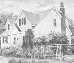 Seavey Family -- Glenoak, 614 Bay Shore, Burlington: home of Miss Marjorie Seavey and Miss Theo Seavey