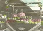 Bullock Family -- Annie and Nellie Bullock at Hamilton Central Market