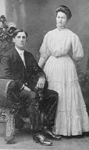 Emery Family -- Wedding picture of Pansy Filman and Russel Emery