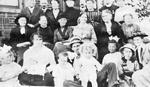 Filman Family -- Group at Willowbank, 1916