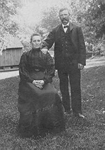Fonger Family -- Mr. & Mrs. Robert Johnson (nee Nancy Fonger)