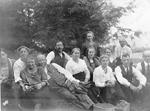 Scheer Family -- En Route to Sparrow Lake, 1920