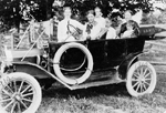 Cars -- Early Ford Car, 1914