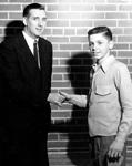 Aldershot Bowling Club -- Butt Trophy: Fred Wells and Harry Stevenson