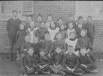 John Dudley Williamson -- JDW's class in Merton School, near Bronte, in 1905