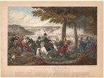 Battle of the Thames. By John Dorival