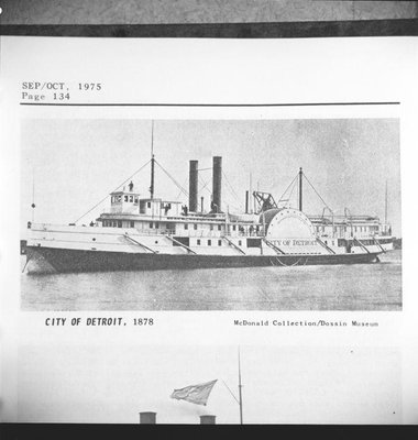 CITY OF DETROIT (1878)