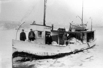 GOLDISH, L. (1913, Fish Tug)