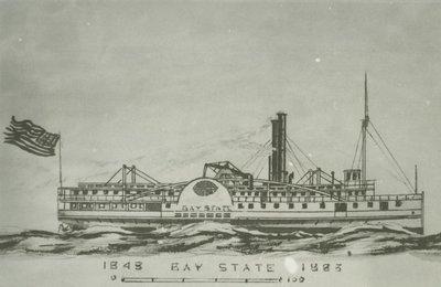 BAY STATE (1848, Steamer)