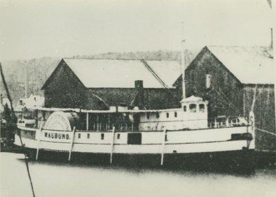 WAUBUNO (1865, Steamer)