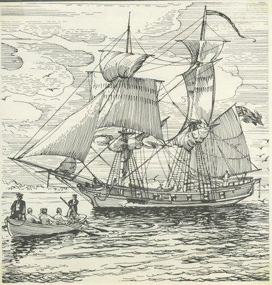 GENERAL GAGE (1772, Schooner)
