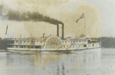 CORSICAN (1870, Steamer)