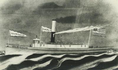 MCCLELLAN, GEORGE B. (1862, Tug (Towboat))