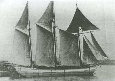 HAYES, DAN (1868, Scow Schooner)